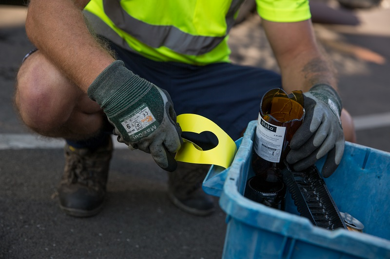 recycling in newport - dangerous items